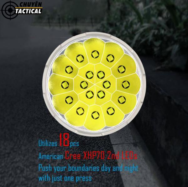 đèn pin chiếu xa nhất thế giới