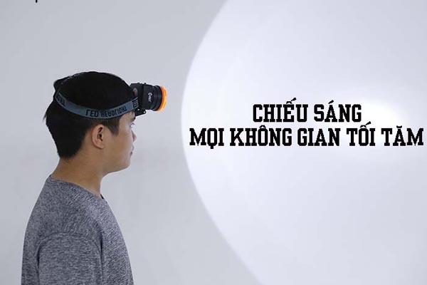 đèn pin đeo trán siêu sáng