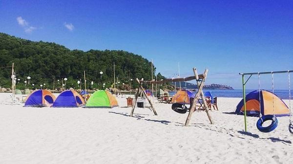 địa điểm cắm trại gần tphcm