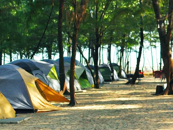 địa điểm cắm trại ở tphcm