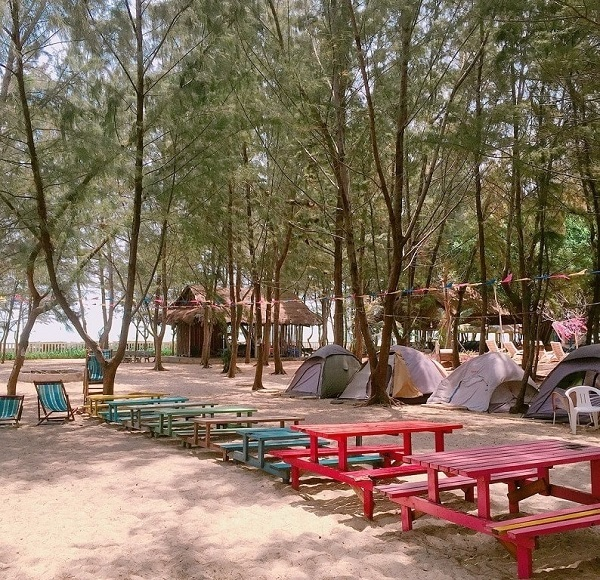 địa điểm cắm trại qua đêm gần tphcm