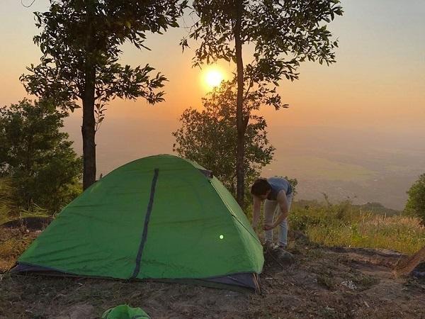 địa điểm cắm trại qua đêm ở tphcm