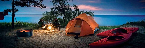 khu cắm trại gần tphcm
