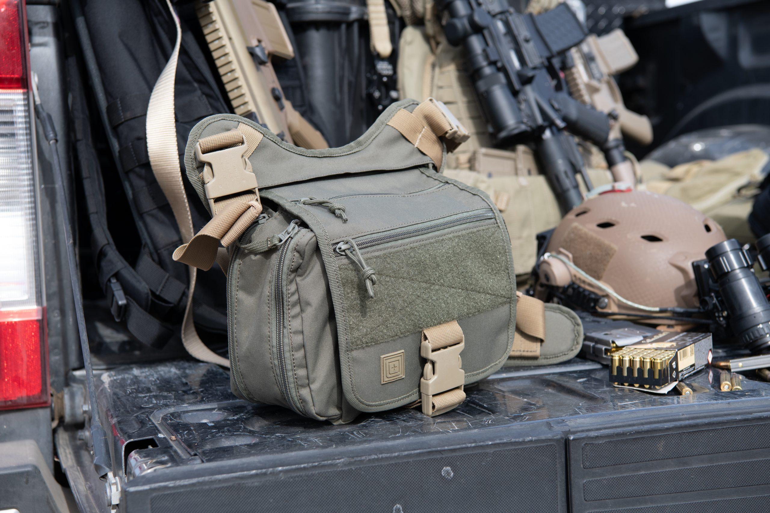 Review Túi đeo 5.11 Tactical Daily Deploy Push Pack 2021 và so sánh với Push Pack