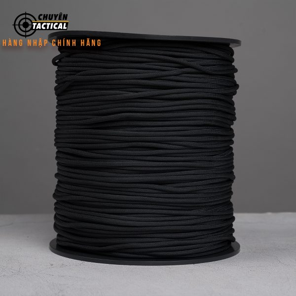 1m – Dây Paracord 550 – Black