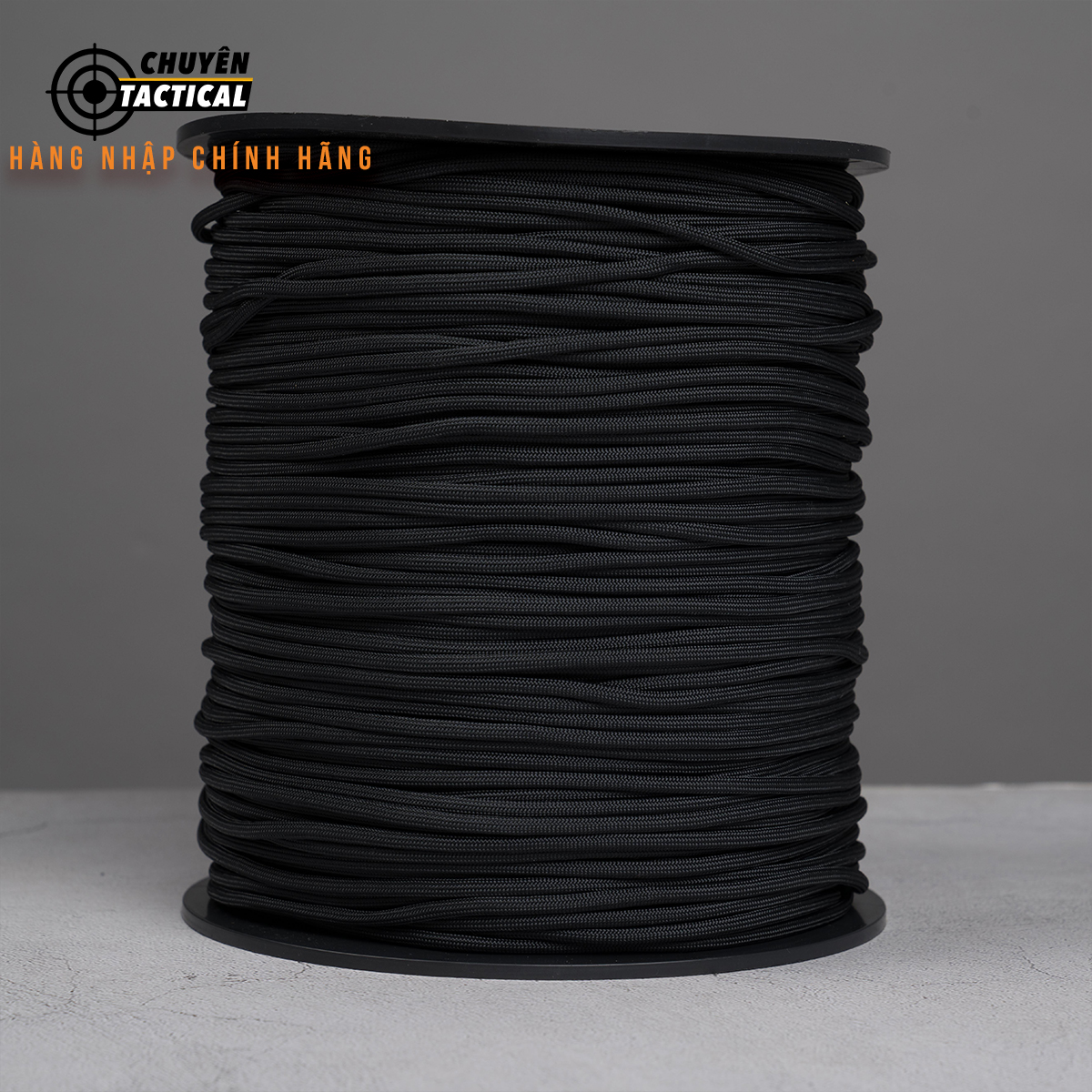 1m - Dây Paracord 550 - Black