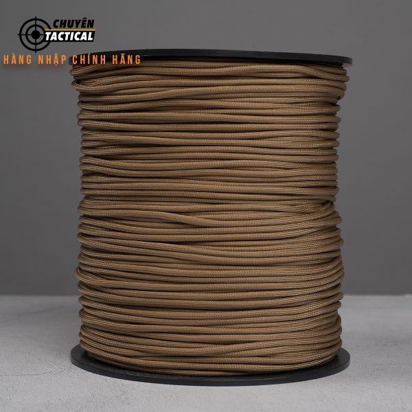 1m – Dây Paracord 550 – Tan