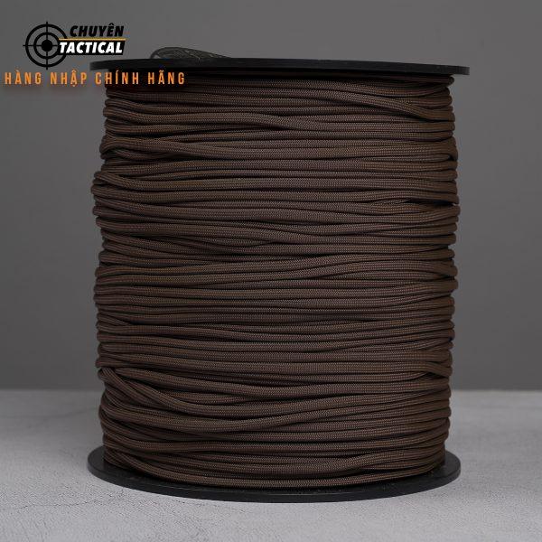 1m – Dây Paracord 550 – Brown