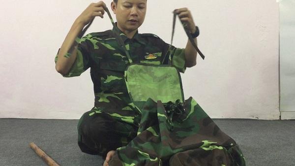 Hướng dẫn cách sắp xếp balo, quân tư trang chuẩn trong quân đội
