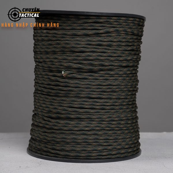 1m – Dây Paracord 550 – PL Woodland