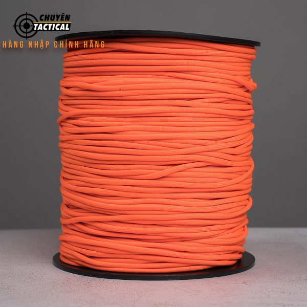 1m – Dây Paracord 550 – Neon Orange
