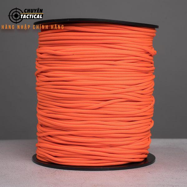1m – Dây Paracord 550 – Neon Orange