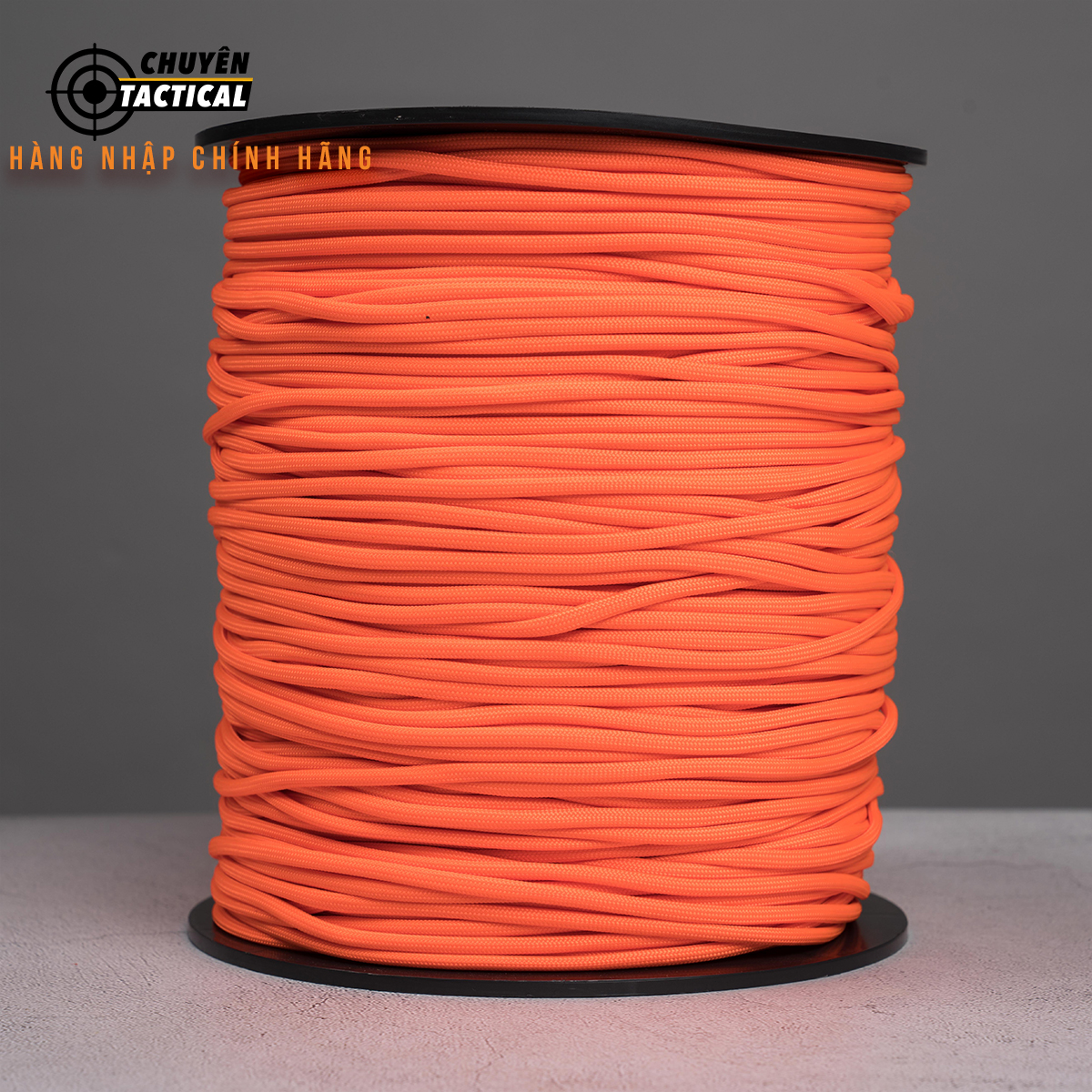 1m - Dây Paracord 550 - Neon Orange