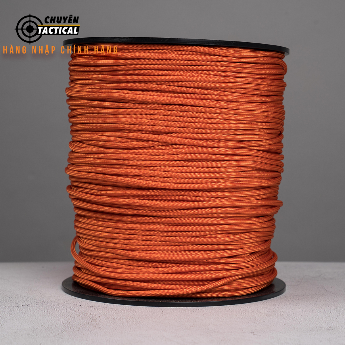 1m - Dây Paracord 550 - Burnt Orange