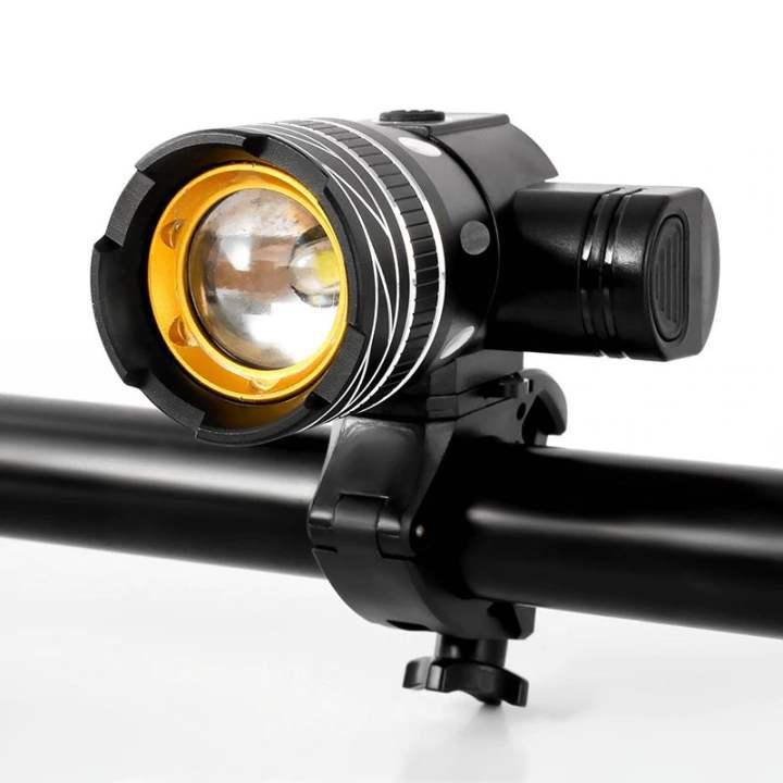 Đèn pin xe đạp MLH T6 2000mAh