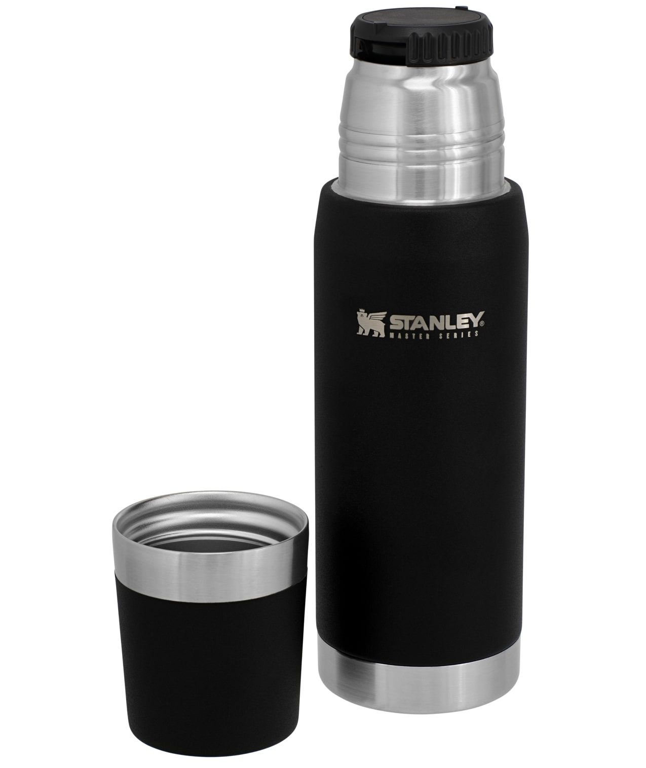 Bình giữ nhiệt Stanley Master Unbreakable Thermal Bottle 25oz | 0.75L – Black
