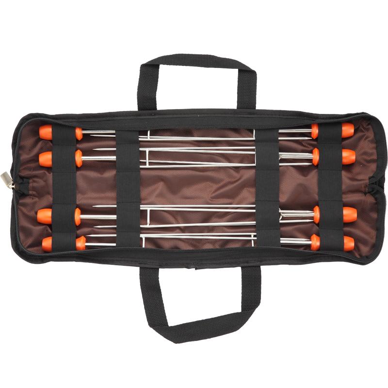 Xiên nướng BBQ Campingmoon MK-8 (Bộ 08 cái)