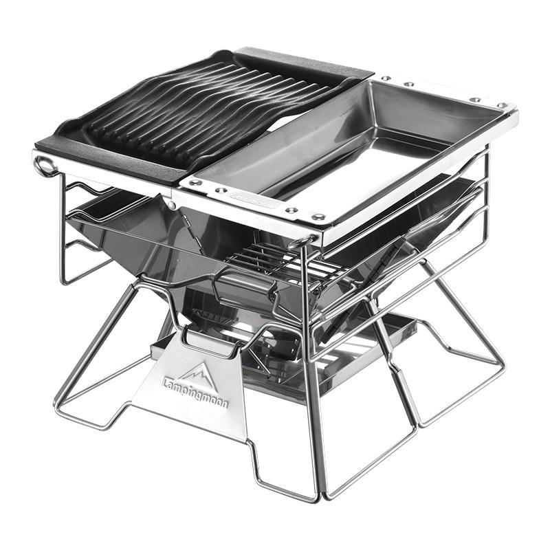 Bếp nướng dã ngoại Campingmoon X-Two