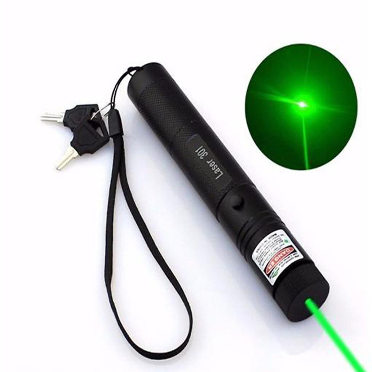 đèn pin siêu sáng Laser LASER 303