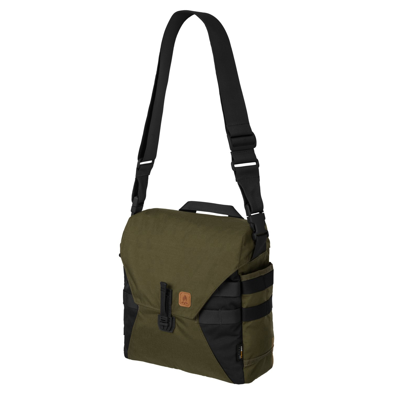 Bushcraft Haversack Bag® - Cordura® - Olive Green/Black