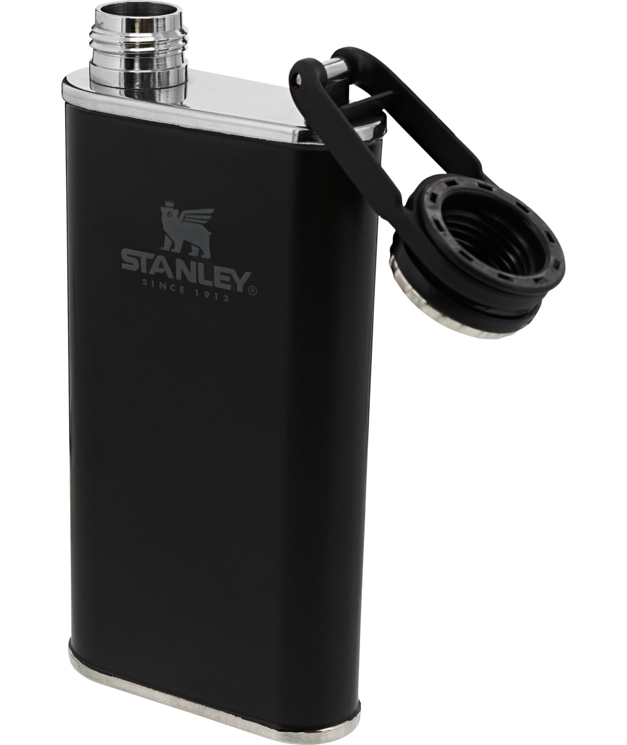 Stanley Easy-Fill Wide Mouth Flask – Black