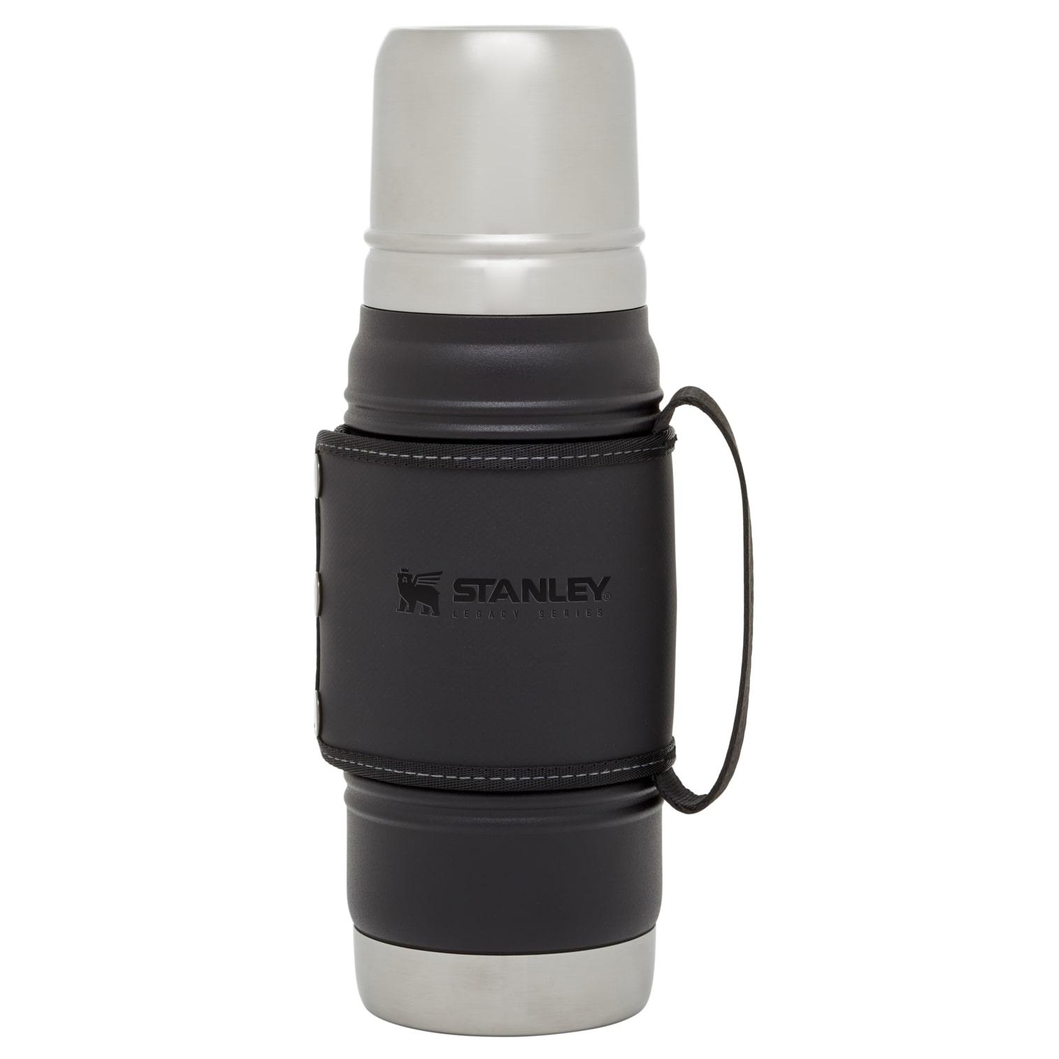 Bình Giữ Nhiệt Stanley LEGACY QUADVAC™ THERMAL BOTTLE | 20 OZ - 0.6L - Black