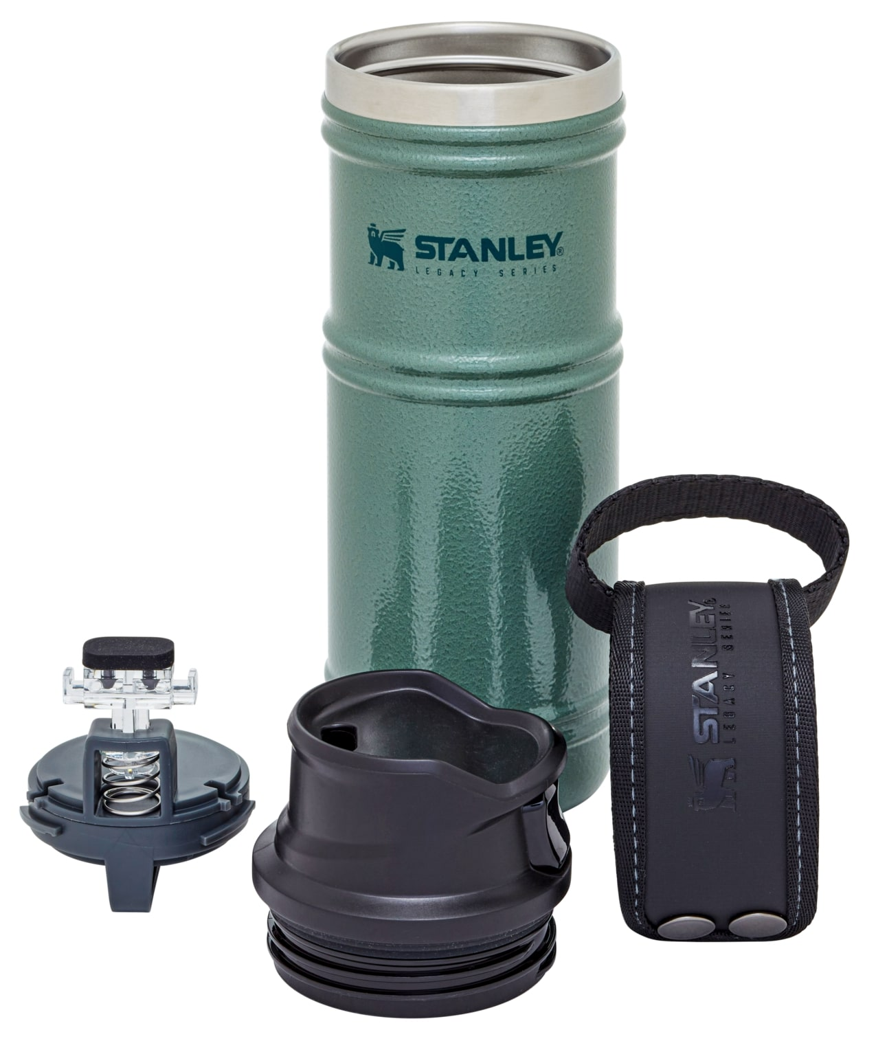Stanley The Quadvac Trigger Action Mug – 12oz – Green