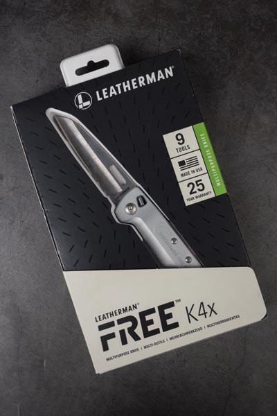 Cận cảnh dao Leatherman FREE K4x