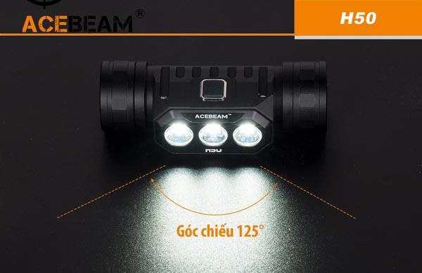 Chiêm ngưỡng đèn pin siêu sáng đeo trán H40