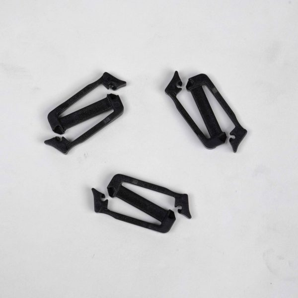 Duraflex Siamese Slik Clip – Black