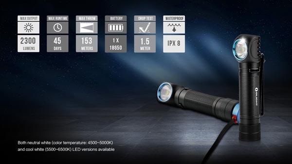 Đèn pin đeo trán Olight H2R Nova 00010