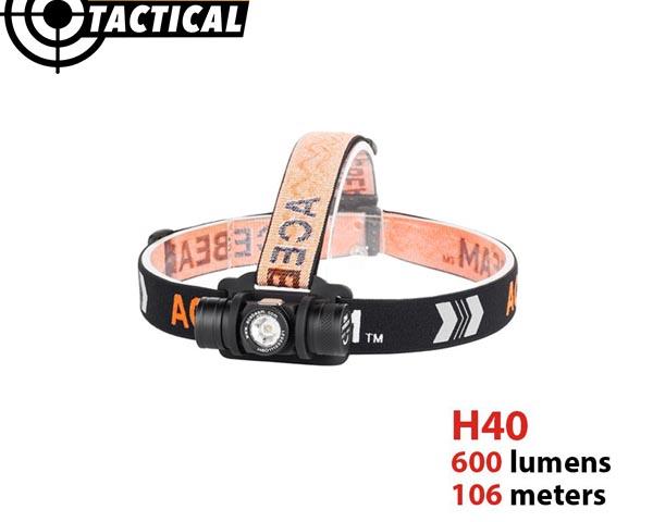 Đèn pin đeo trán siêu sáng H50