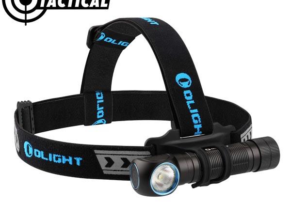 Mẫu đèn pin Olight H2R Nova đeo trán