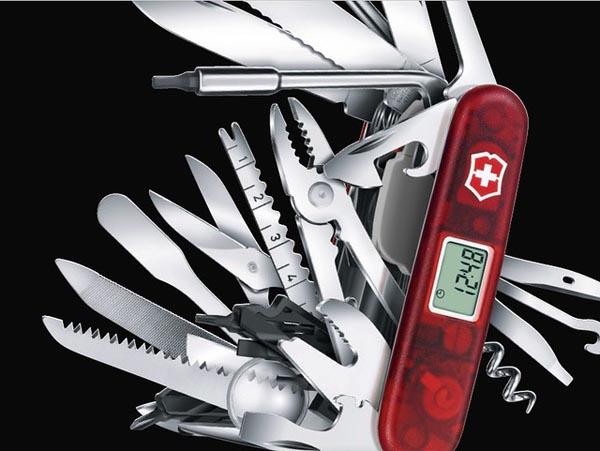 Thiết kế dao Victorinox Thụy Sĩ