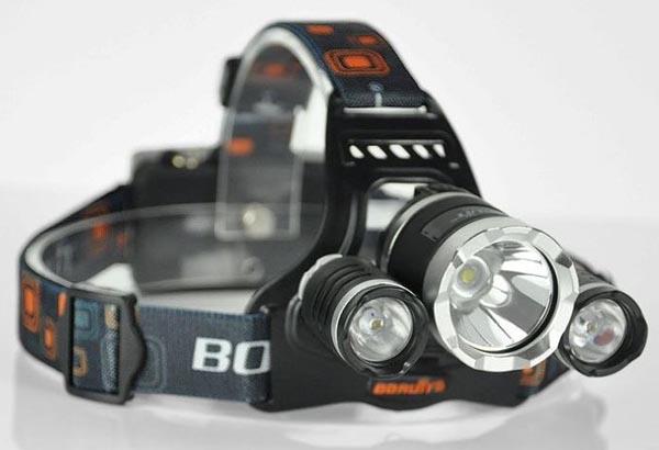 chiếc đèn pin đeo trán siêu sáng cao cấp