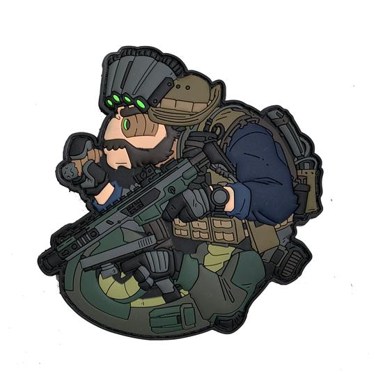 Patch Tacopsgear Chameleon SAS Captain