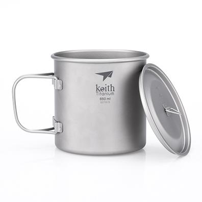 KEITH TI3208 - CA TITANIUM 1 LỚP 650ML