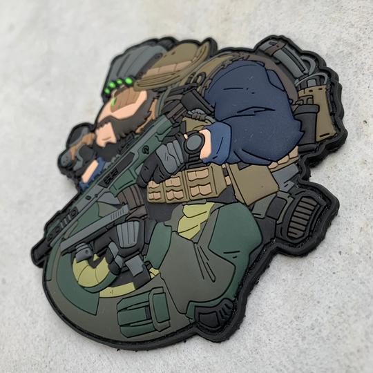 Patch Tacopsgear Chameleon SAS Captain