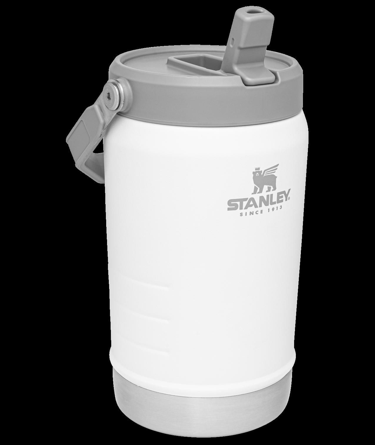 Stanley Iceflow™ Flip Straw Jug   40 oz – Polar White