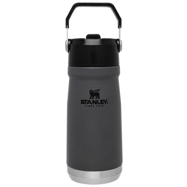 Stanley Iceflow™ Flip Straw Water Bottle | 17 oz – Charcoal
