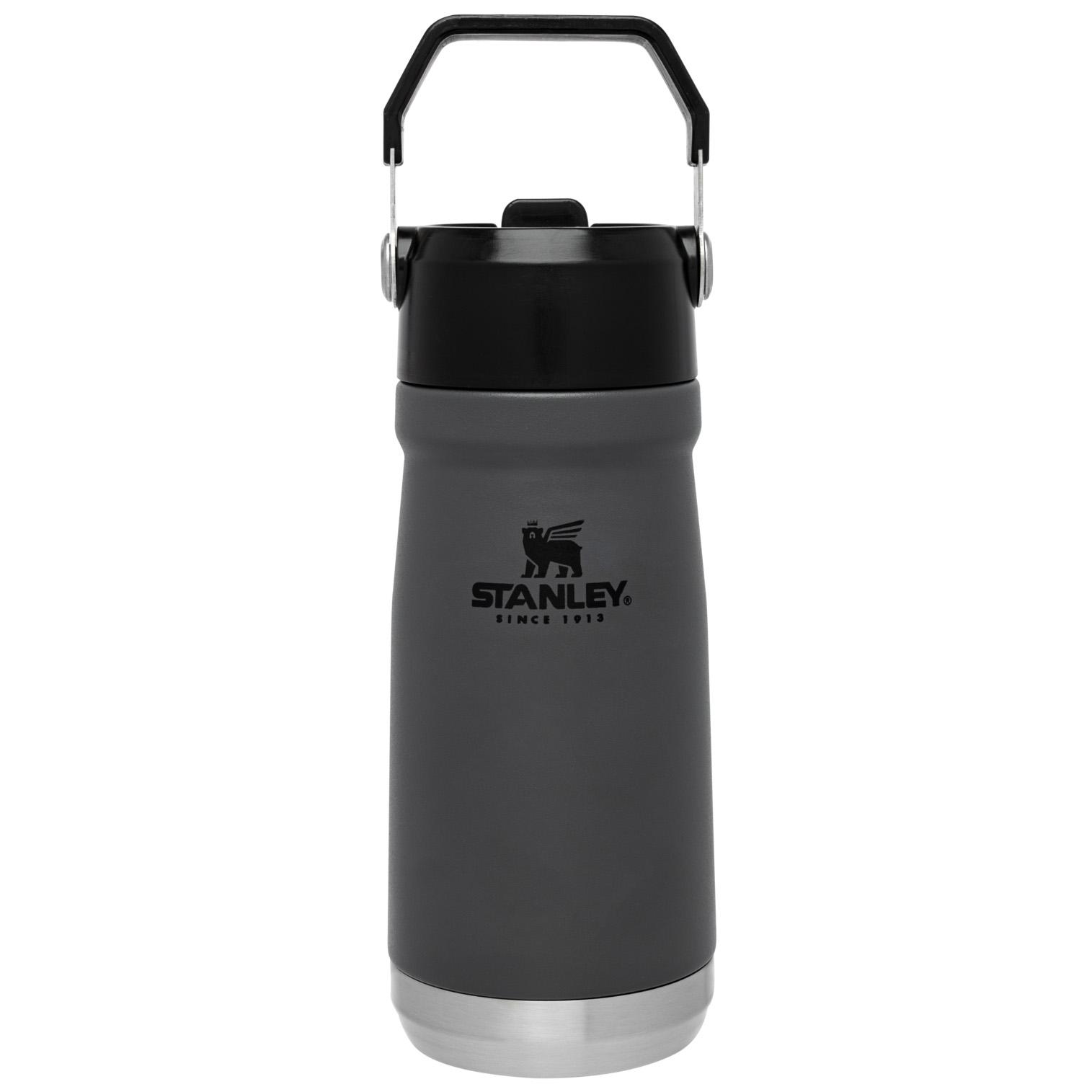 Stanley Iceflow™ Flip Straw Water Bottle   17 oz – Charcoal