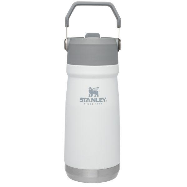 Stanley Iceflow™ Flip Straw Water Bottle | 17 oz – Polar White
