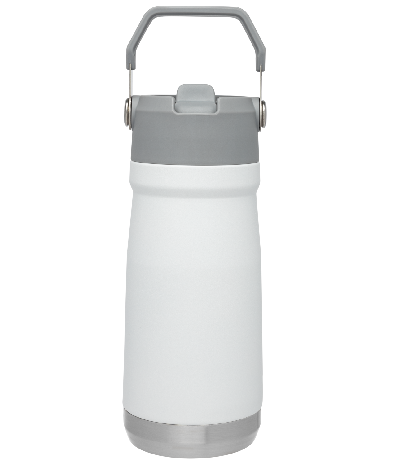 Bình Giữ Nhiệt Stanley Iceflow Flip Straw Water Bottle   17 oz – Polar White
