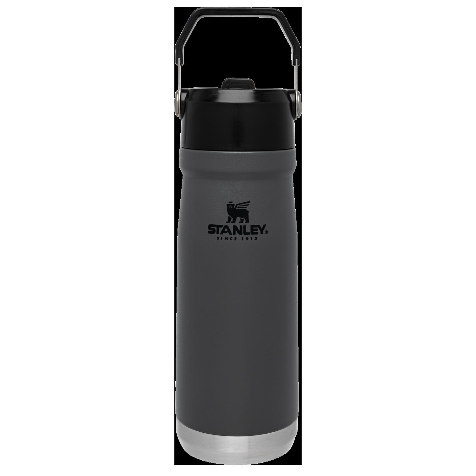 Stanley Iceflow™ Flip Straw Water Bottle   22 oz – Charcoal