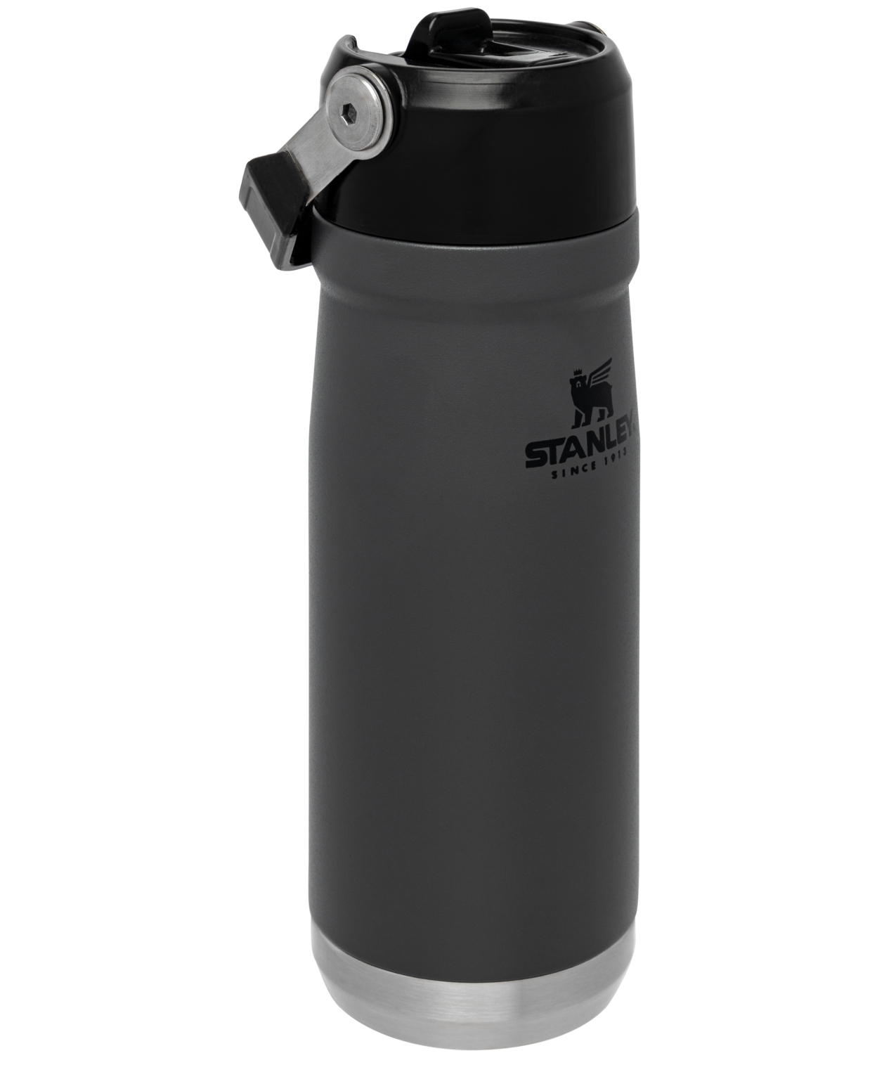 Stanley Iceflow™ Flip Straw Water Bottle | 22 oz – Charcoal