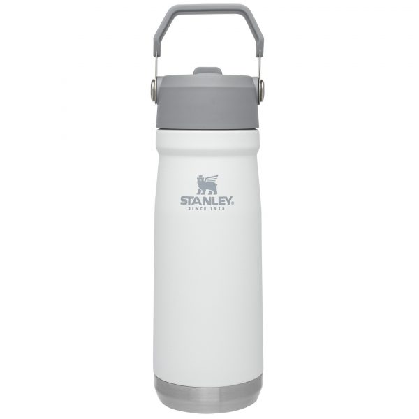 Stanley Iceflow™ Flip Straw Water Bottle | 22 oz – Polar White