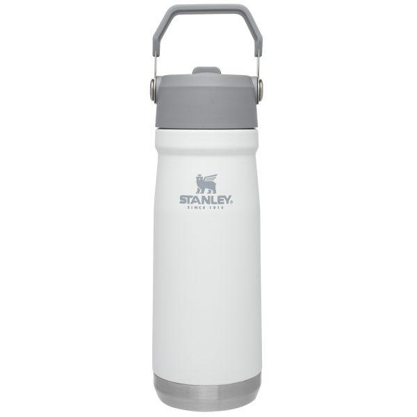 Bình giữ nhiệt Stanley Iceflow Flip Straw Water Bottle | 22 oz – Polar White