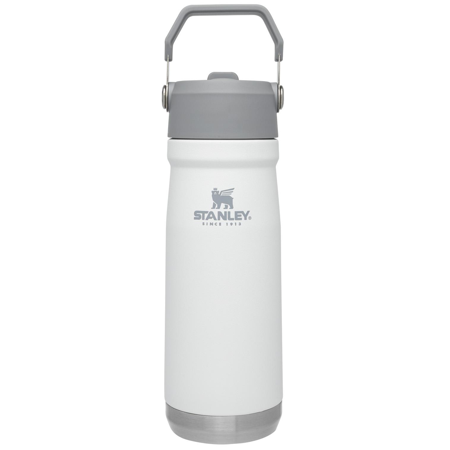 Stanley Iceflow™ Flip Straw Water Bottle | 22 oz – Polar White