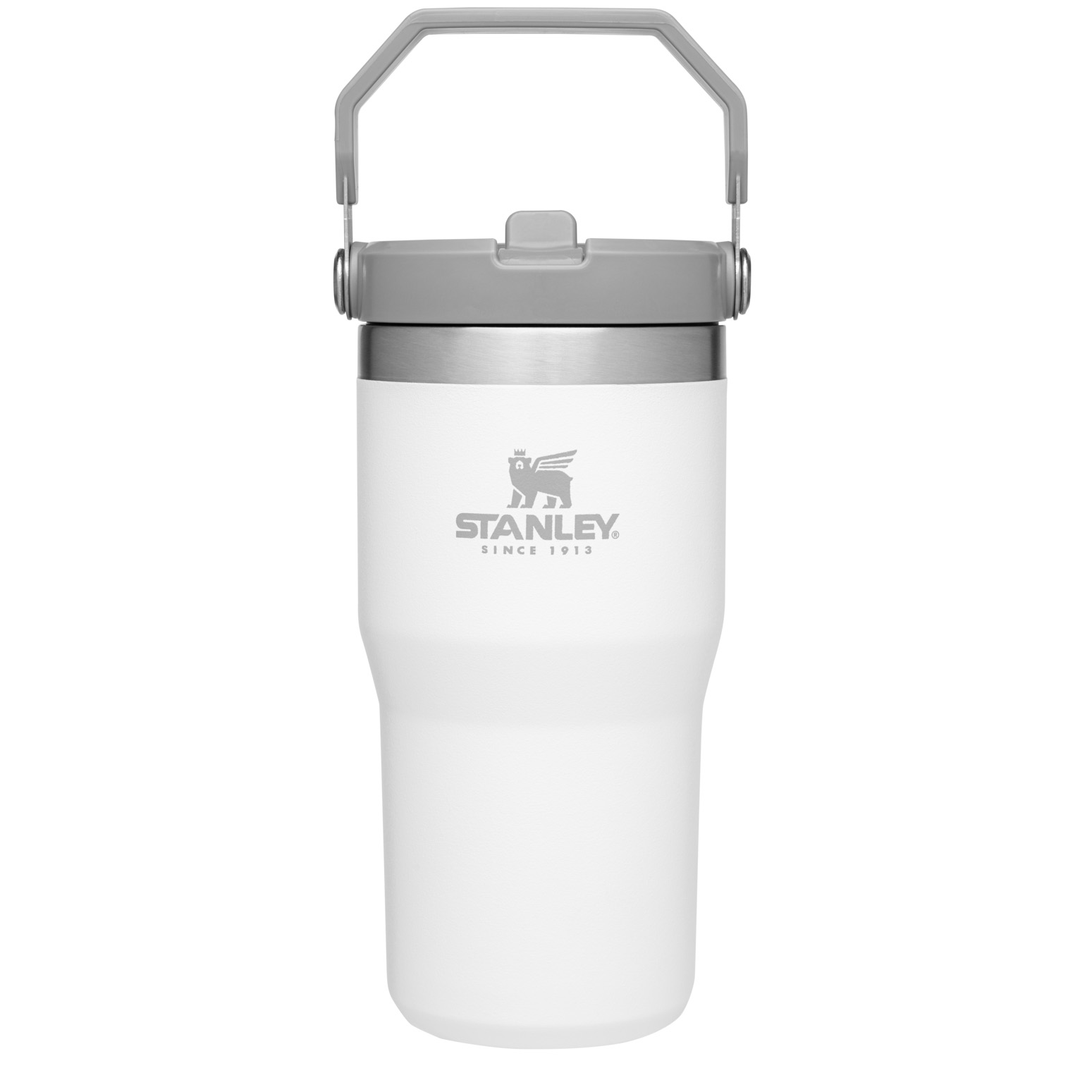 Stanley Iceflow™ Flip Straw Tumbler | 20 oz - Polar White