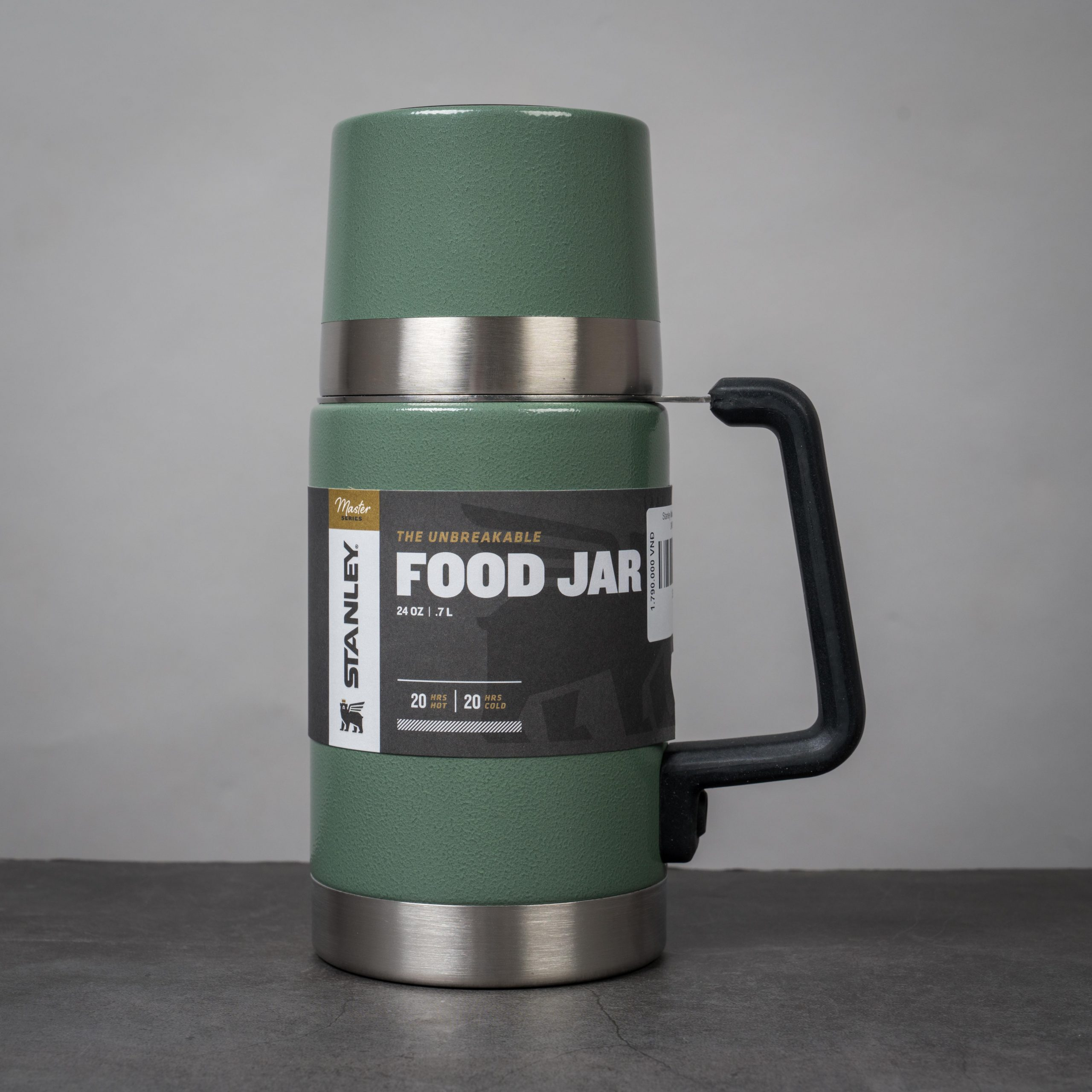 Stanley MASTER UNBREAKABLE VACUUM FOOD JAR - Bình đựng Soup, cháo siêu cứng và khỏe. Giữ nhiệt vượt trội